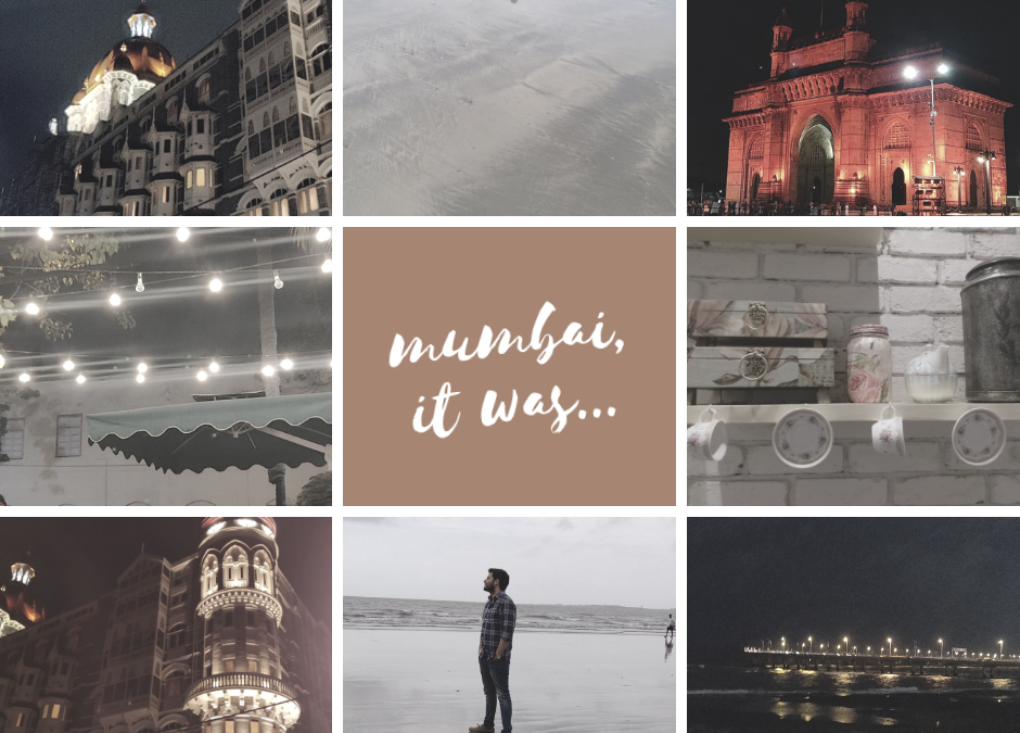 Not sure, which Mumbai I fell in love with more!